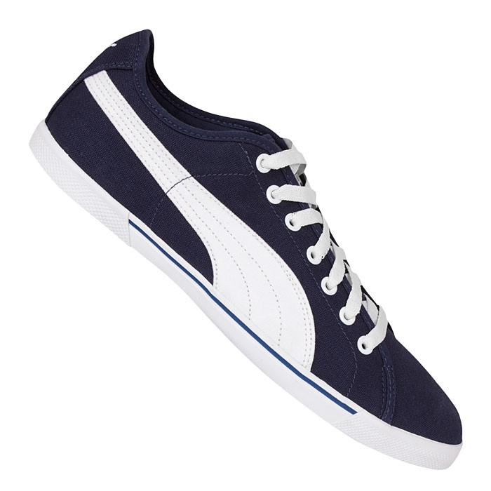Puma-Benecio-Canvas-Navy-White-Gr-43-uNP-ab-29-99-Neu