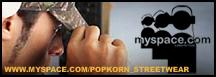 Der Popkorn Streetwear Online Shop bei MySpace